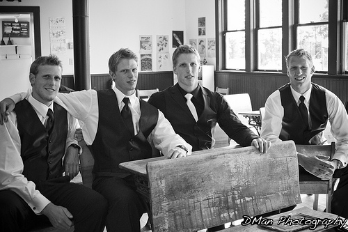 Marc Staal's wedding